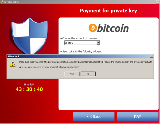 Årets trussel: Cryptolocker skjermbilde