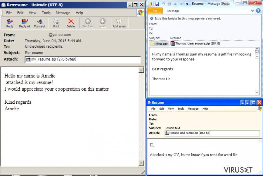 Hvordan identifisere en e-post infisert med virus? skjermbilde