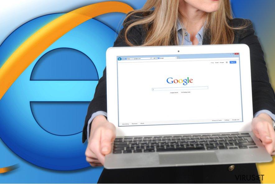 Hvordan tilbakestille Internet Explorer?