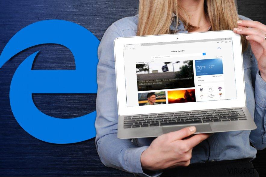 Hvordan tilbakestille Microsoft Edge? skjermbilde