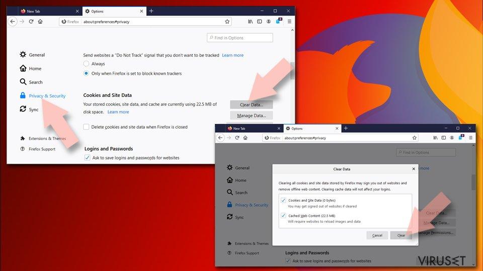 Tilbakestill Mozilla Firefox