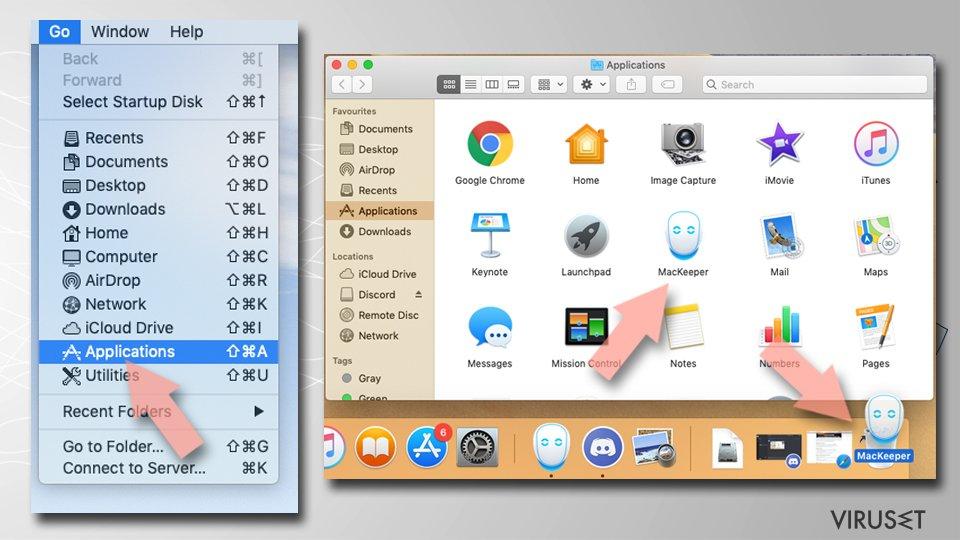 Fjern Safe Finder fra Mac OS X system