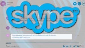 Ondsinnet lenke signaliserer et nytt utbrudd av Skype-viruset