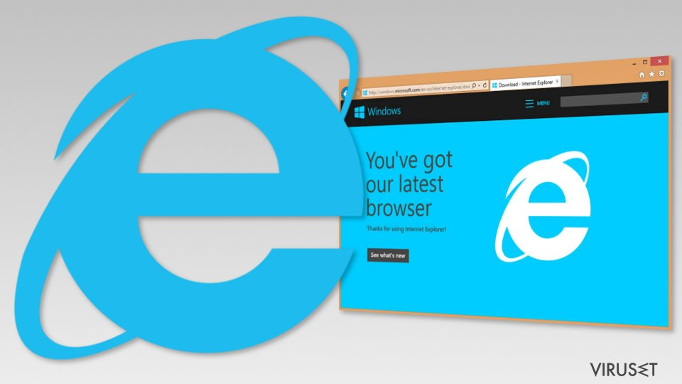 Image of Internet Explorer