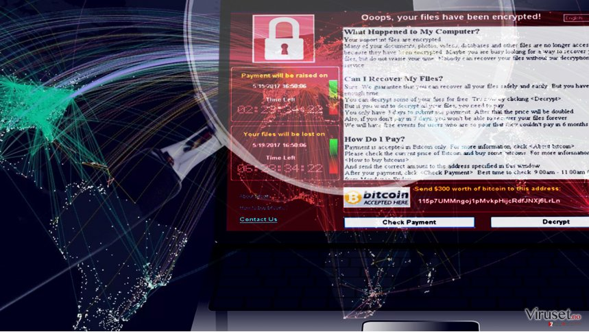 Guide on how to survive WannaCry ransomware attack