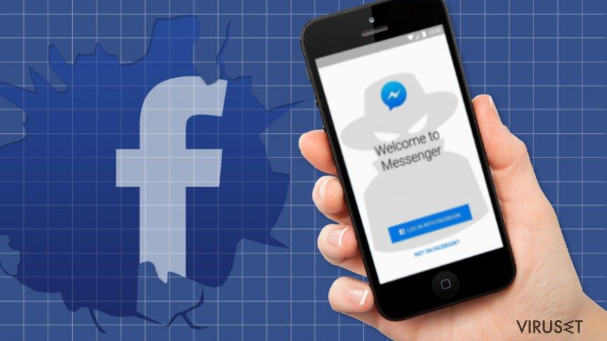 Den nye bølgen av Facebook-virus: ondsinnede videolenker spres aktivt via Messenger skjermbilde
