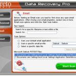 Data Recovery Pro skjermbilde