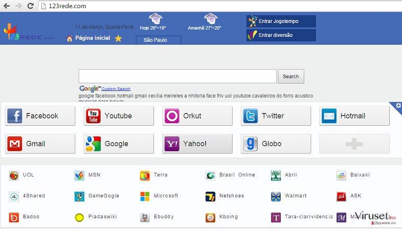 123rede.com skjermbilde