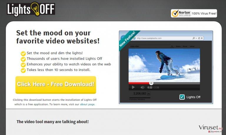 Annonser fra LightsOff skjermbilde