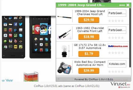 Annonser fra RoccketSale skjermbilde