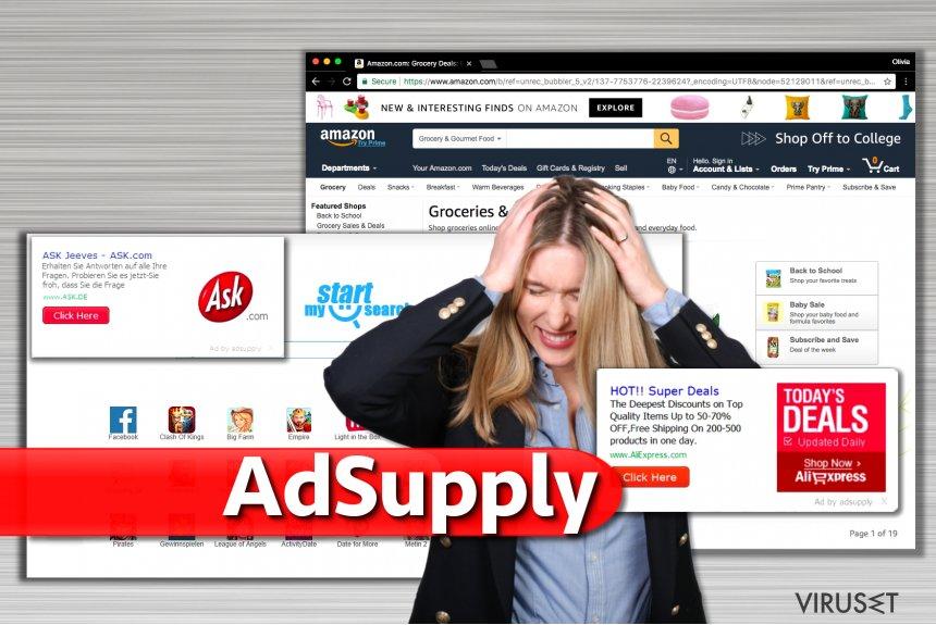 Annonser fra Adsupply skjermbilde