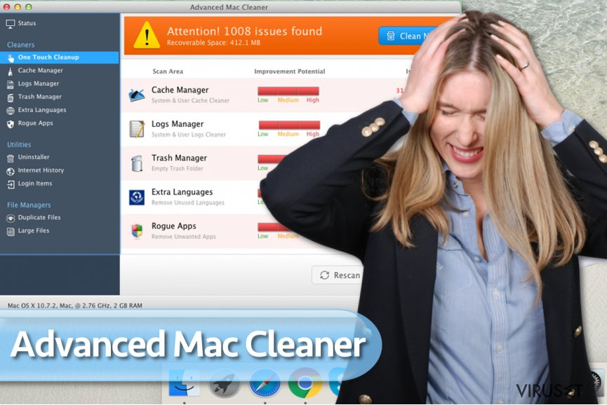 Advanced Mac Cleaner-virus