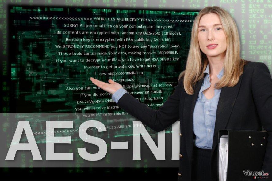 Bilde av AES-NI ransomware