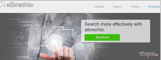 Albrechto annonser skjermbilde