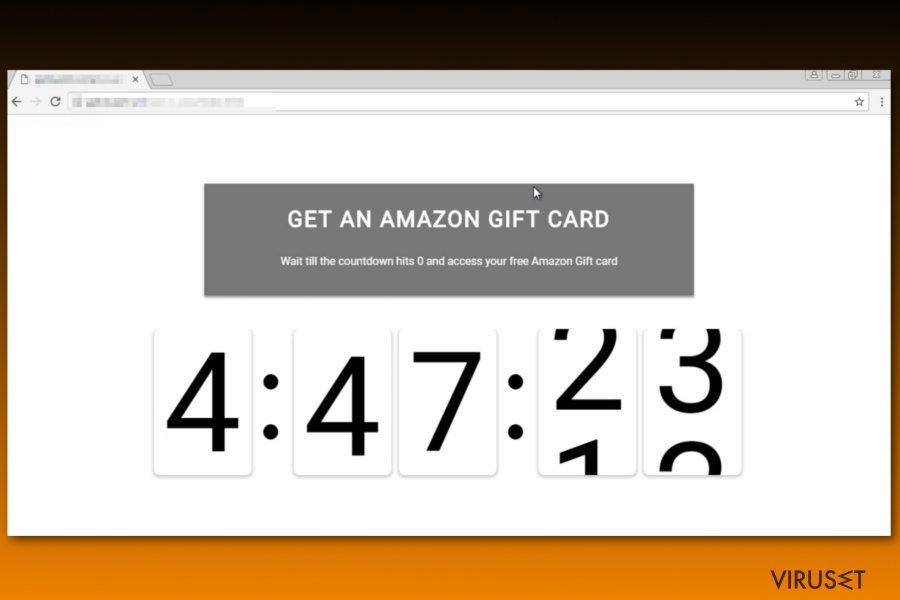 Amazon gavekortsvindel, YouTube-versjon