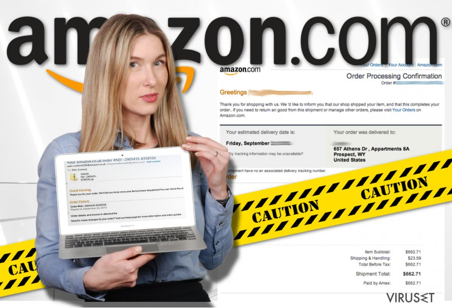 Amazon virus skjermbilde