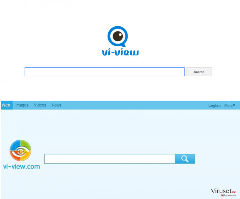 A picture showing an old and new version of Vi-View