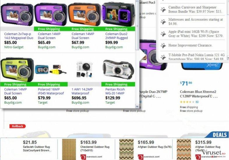 AP Suggestor-annonser skjermbilde