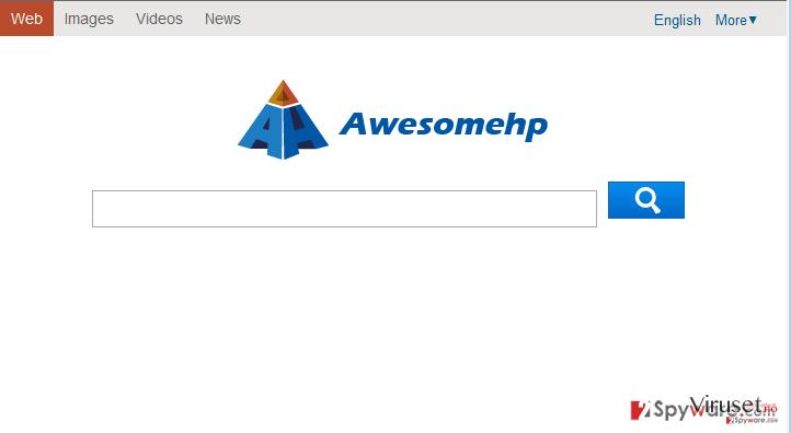 Awesomehp.com skjermbilde