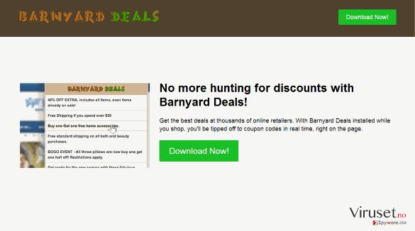 Barnyard Deals virus skjermbilde
