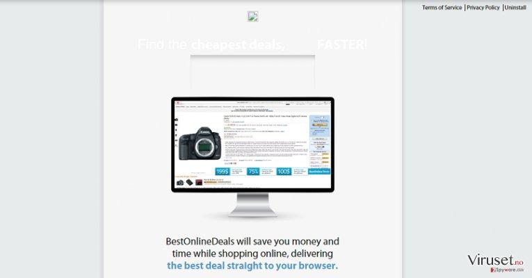 Annonser fra Best Online Deals skjermbilde