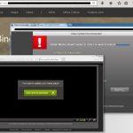 Bing Omadresser virus skjermbilde