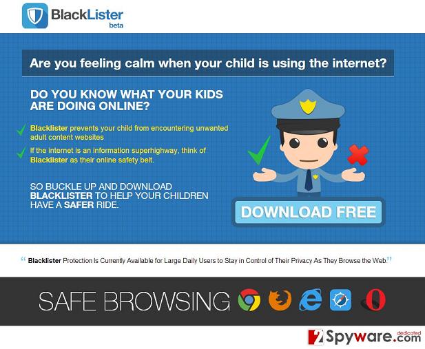BlackLister Annonser skjermbilde