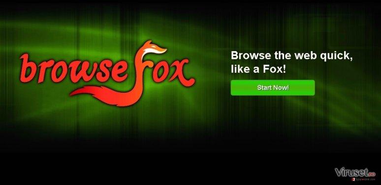 BrowseFox skjermbilde