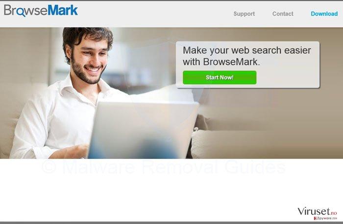 BrowseMark virus skjermbilde