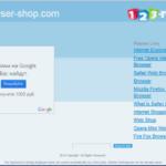 Browser Shop adware skjermbilde