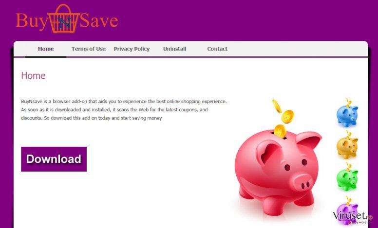 BuyNSave-annonser skjermbilde
