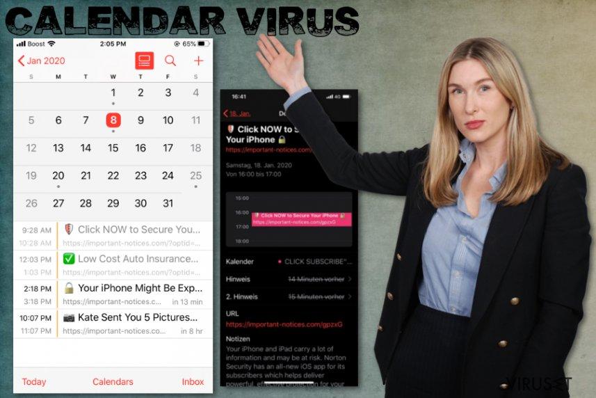 iPhone-kalendervirus
