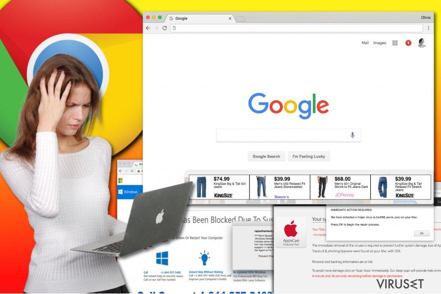Chrome adware-virus