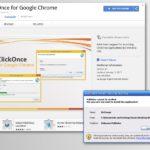 Chrome omdirigering viruset skjermbilde