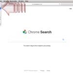 Chromesearch.win-virus skjermbilde