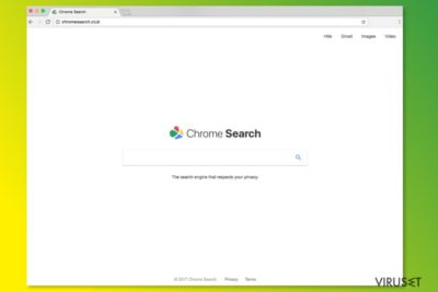 ChromeSearch.club hjemmeside