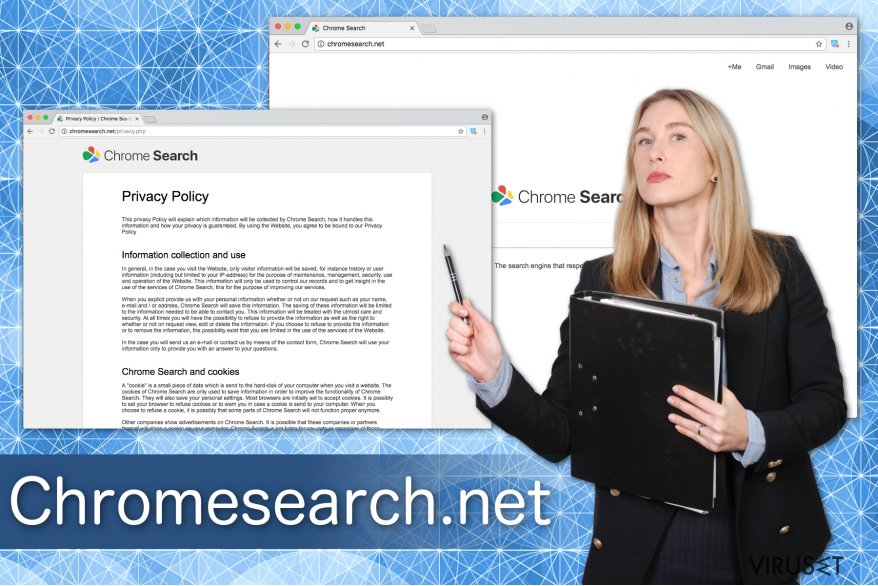 Illustrasjon av Chromesearch.net