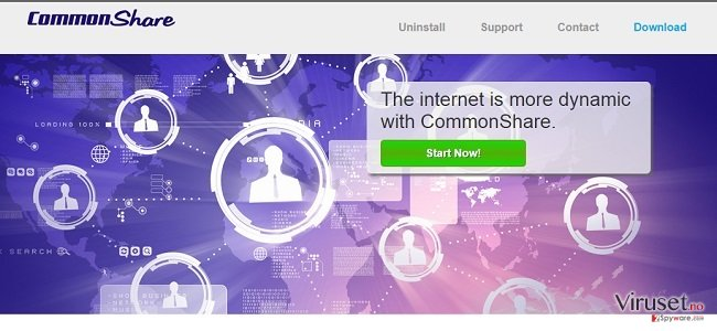 CommonShare ads and CommonShare deals skjermbilde