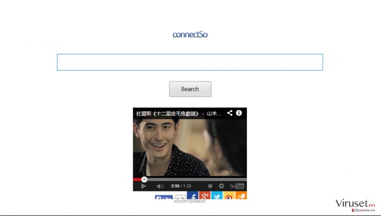 ConnectSo Toolbar skjermbilde