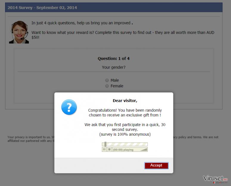 Consumer-responses.com pop-up virus skjermbilde