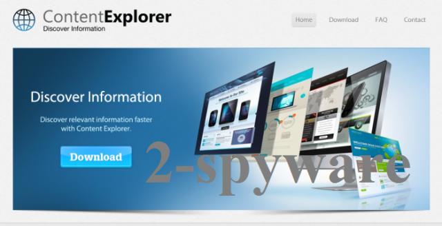 Content Explorer skjermbilde