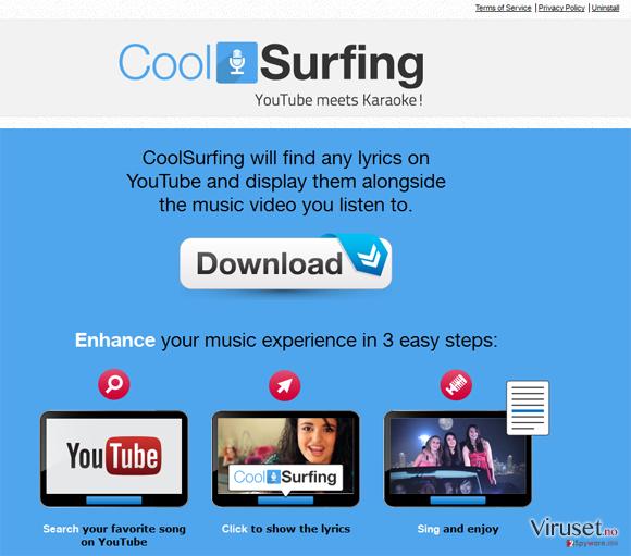CoolSurfing skjermbilde