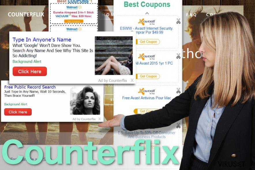 Bilde av Counterflix annonser