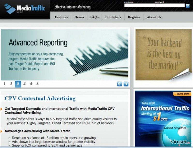 cpvfeed.mediatraffic.com redirect skjermbilde