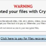 Crypt0L0cker-virus skjermbilde