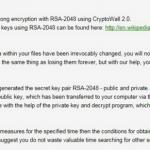CryptoWall 2.0-virus skjermbilde