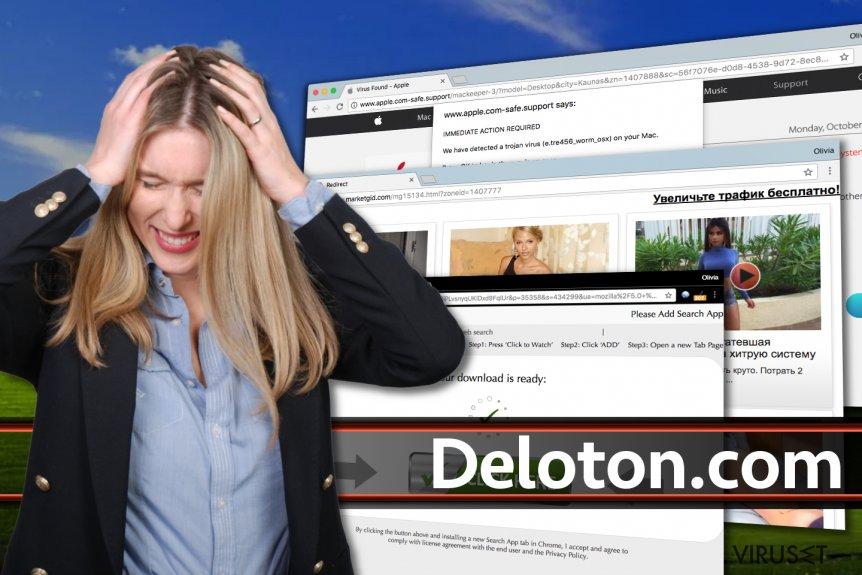 Deloton.com-annonser
