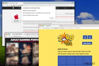 Overdreven mengde Deloton.com-annonser