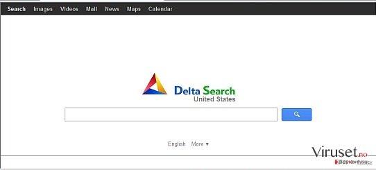 Delta Search skjermbilde