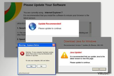 «Desktop Weather Alerts» pop-up
